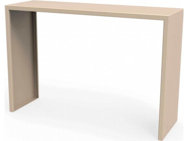 Console spirix beige sable hauteur 75 cm Csl_SPX_h75_Sab