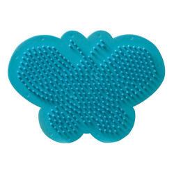 Plaque pour perles technique à repasser : papillon