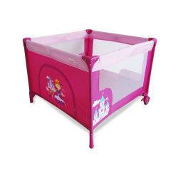 Parc pliant Baby Fox 100 cm x 100 cm Princesse Rose