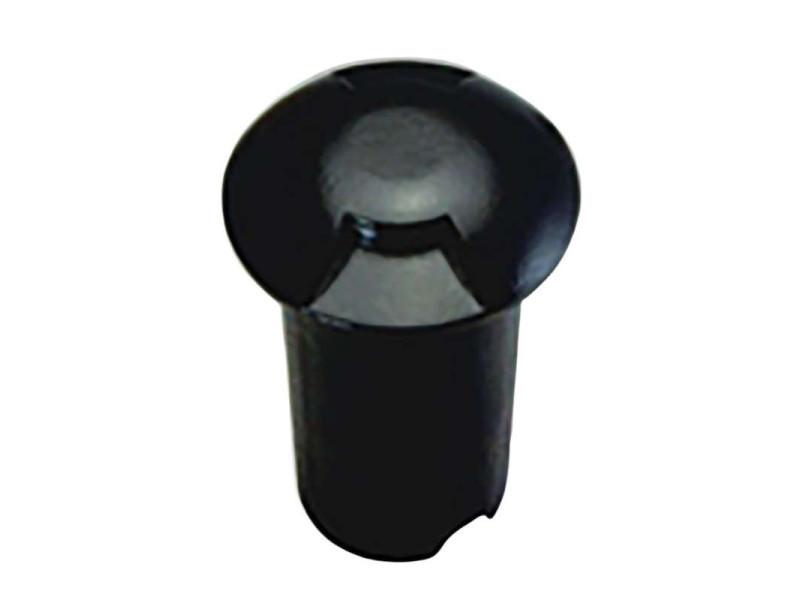 Petit spot 0,75w led noir encastrable 2 directions - blanc chaud 2700k SP-F109-2NOIR-WW