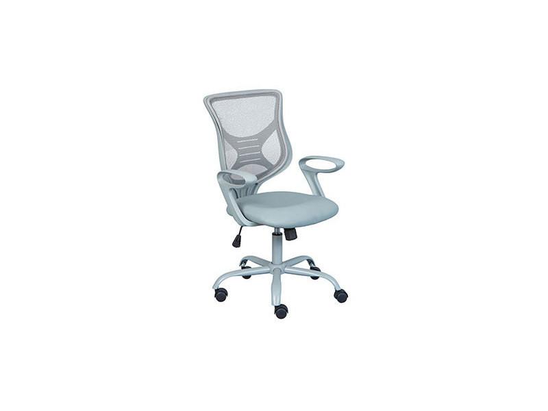 Fauteuil de bureau 61x52x91 cm gris