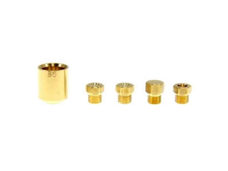 Sachet injecteurs butane/propane four, cuisinière brandt as0005293