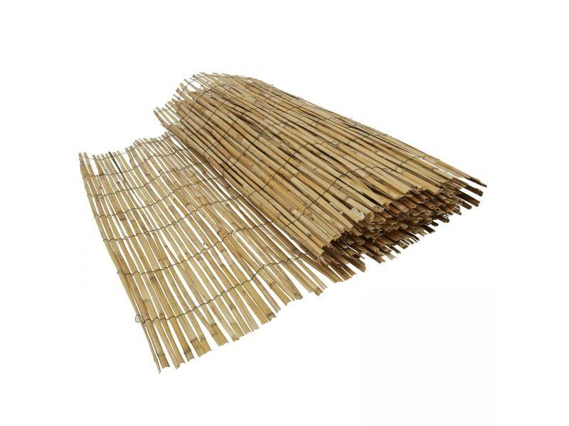 Canisse bambou naturel bois marron