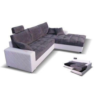 canap convertible avec m ridienne coffre vesuvio l 230 x l 145 x h 71 neuf vente de. Black Bedroom Furniture Sets. Home Design Ideas