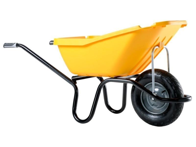 Haemmerlin - brouette pick up 110 jaune roue gonflée 305122205