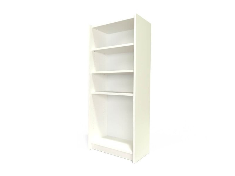 Étagère bibliothèque bois ivoire ETABIB-IV
