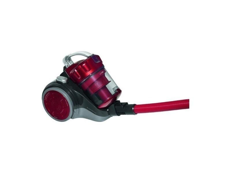 Aspirateur sans sac 700w eco-cyclon bs 1302 clatronic (rouge)