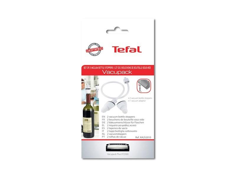 Bouchons de bouteille sous vide vacupack pour petit electromenager tefal - xa252010