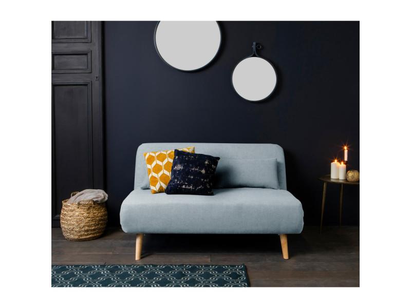 Canape Bleu Pastel : Canapé convertible modulable places john couleur