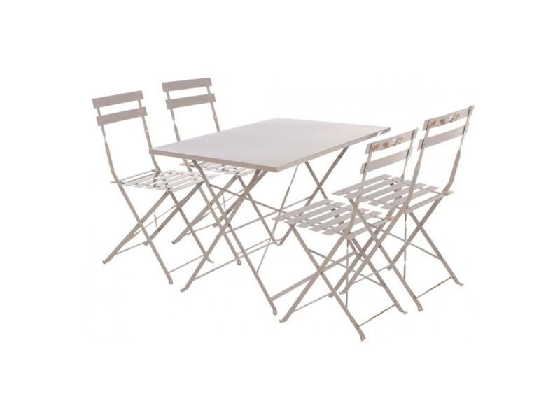 70 x 110 Table hespéride cm de rectangle jardin camargue dxhrCtsQB