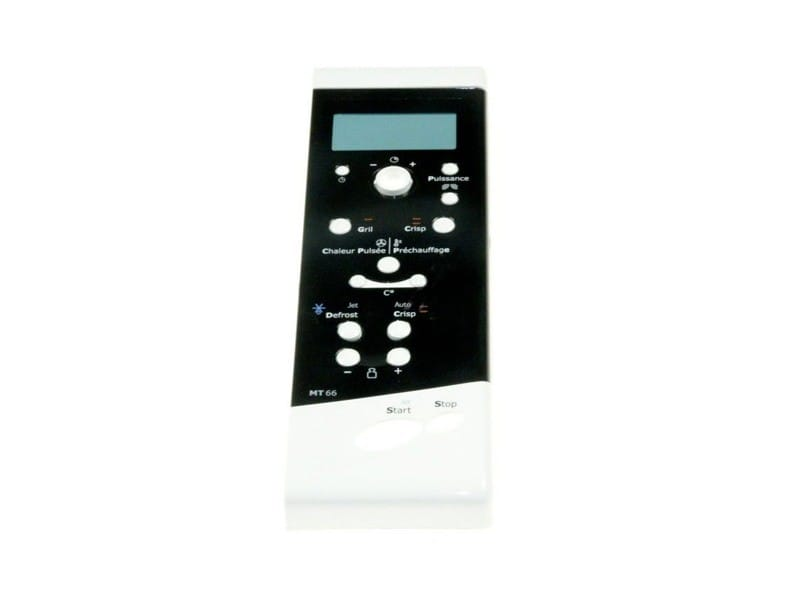 Bandeau plastique de commande blanc reference : 481245359767