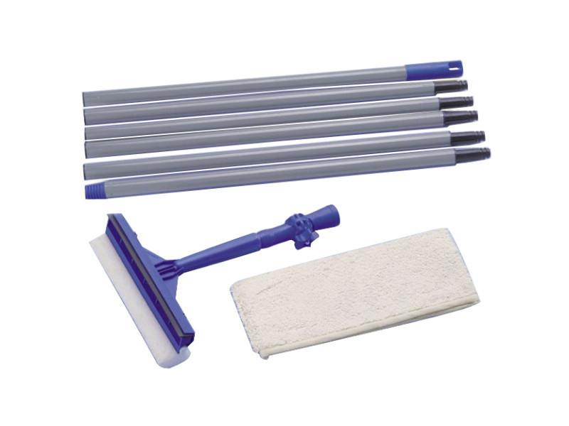 Balais, raclettes sublime raclette pour vitres et carrelage, télescopique de 120 à 300 cm
