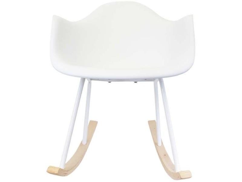 fauteuil scandinave bascule vente de the home deco factory conforama. Black Bedroom Furniture Sets. Home Design Ideas