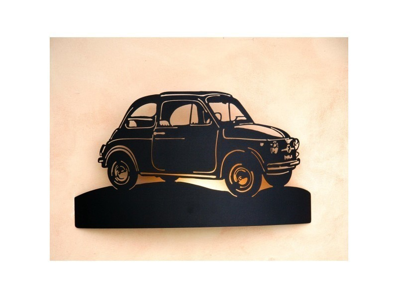Applique Murale Voiture Collection Fiat 500 Vente De Applique