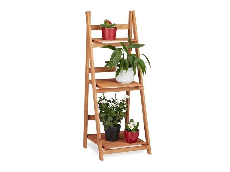 escalier tag re meuble pour plantes bois 107 cm. Black Bedroom Furniture Sets. Home Design Ideas