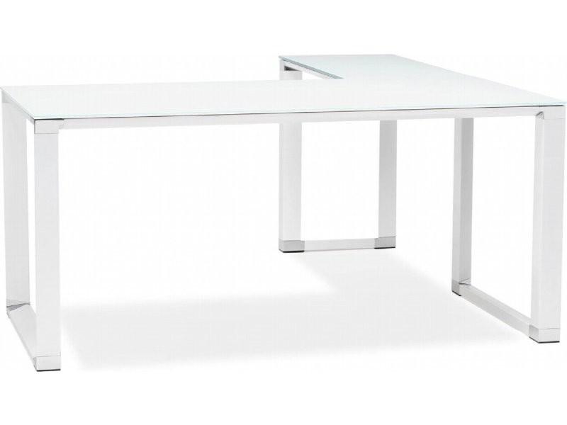 Bureau angle design warner verre OT00210WH
