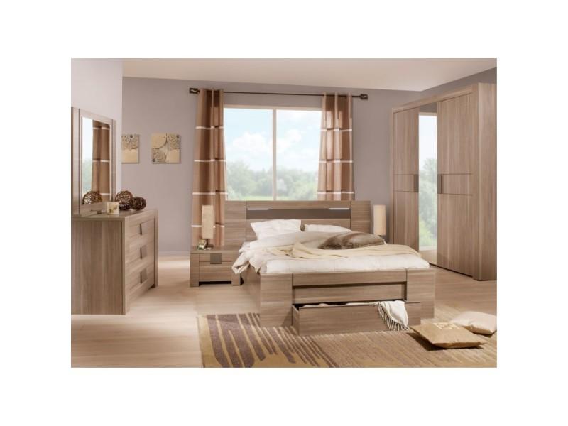 Chambre adulte compl te 140 190 n 1 macao l 177 x l for Vente chambre adulte complete