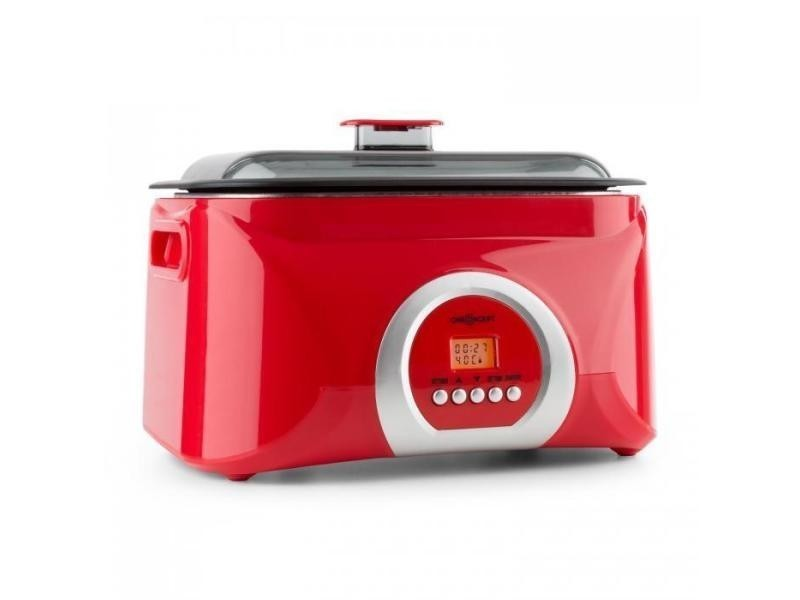 Sanssouci cuiseur sous-vide cocotte 5l 300 w - rouge