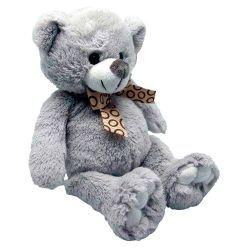 Peluche ours en acrylique gris