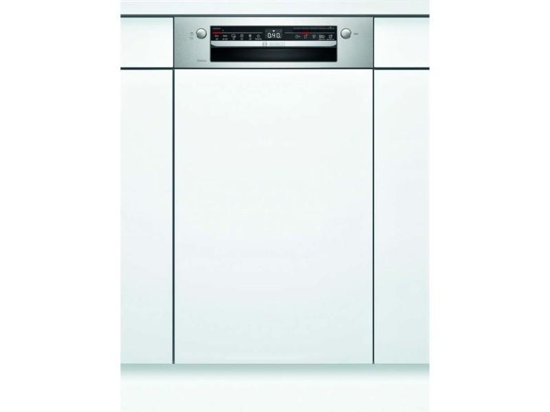 Lave-vaisselle 45cm 9c 46db a+ intégrable avec bandeau inox - spi2hks59e spi2hks59e