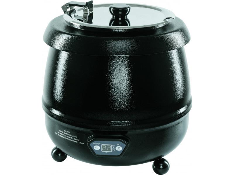 Marmite électrique pour soupe 9 l - stalgast - acier 9 l