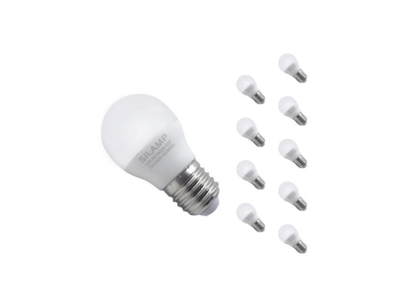 Ampoule e27 led 8w 220v g45 300° (pack de 10) - blanc chaud 2300k - 3500k