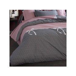 Housse de couette 200x200 cm 100% coton calista