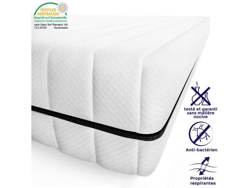 Matelas 80 x 190 cm matelas ferme confortable pas cher matelas sommeil réparateur épaisseur 15 cm