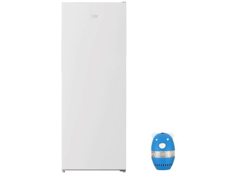 Refrigerateur frigo simple porte blanc 331l a+ froid statique eclairage led