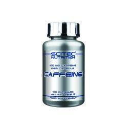 Caffeine 100 caps scitec nutrition - caféine 100mg