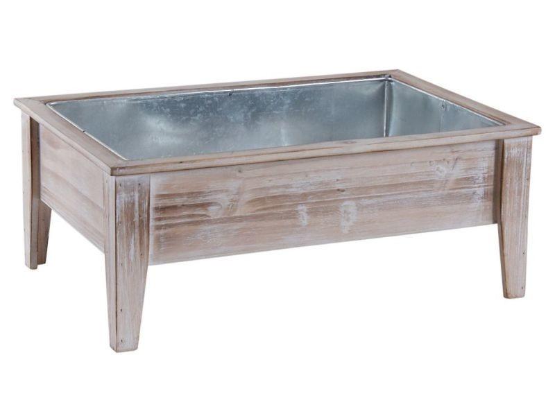 Mini carré potager en bois