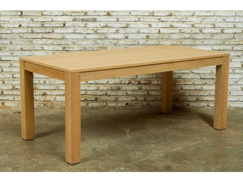 Table à diner extensible cutekubico chêne massif CUTE-KUBICO-TABLE-EXT180