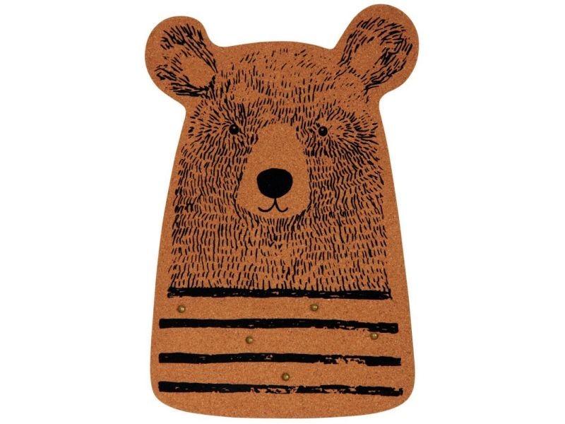 Pêle-mêle ours en liège