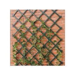 Treillis extensible vert pvc