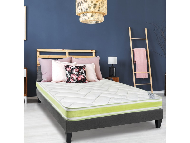 matelas selene 140x200 m moire de forme 18 cm vente de olympe literie conforama. Black Bedroom Furniture Sets. Home Design Ideas