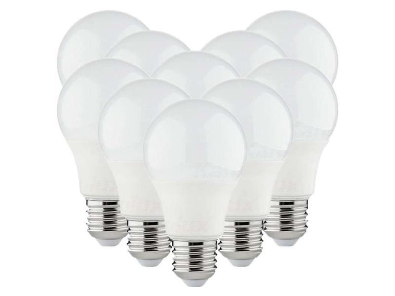 Lot de 50 ampoules led a60 smd 8,5w e27 - blanc chaud 3000k 50XKL-32923