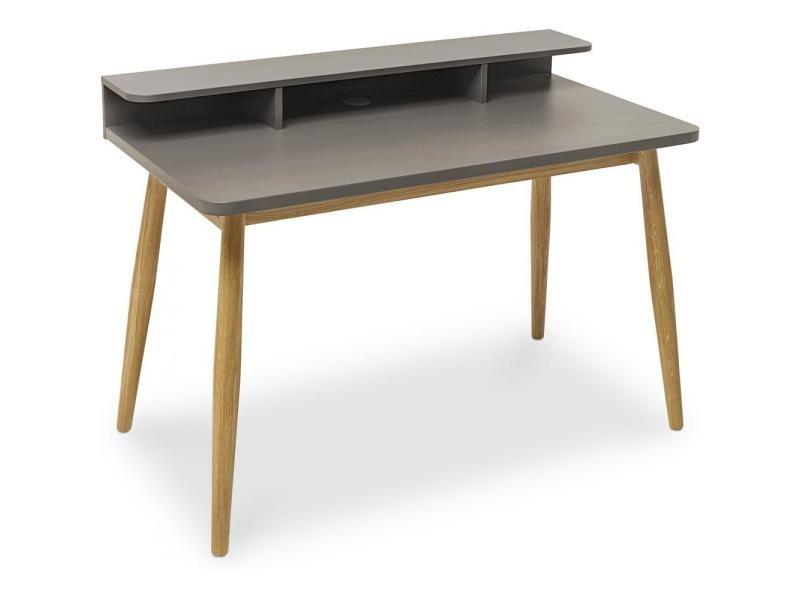 Bureau en bois de style scandinave couleur gris gris vente de non
