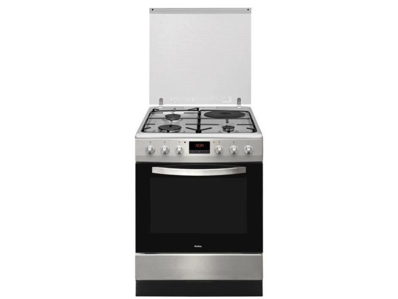 Amica cwcma3135x cuisiniere mixte 60x60 cm inox AMI3260449048149