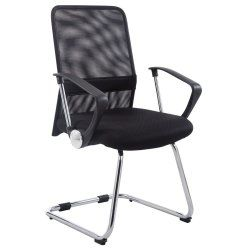 fauteuil de bureau noir | conforama - Chaise De Bureau Sans Roulettes