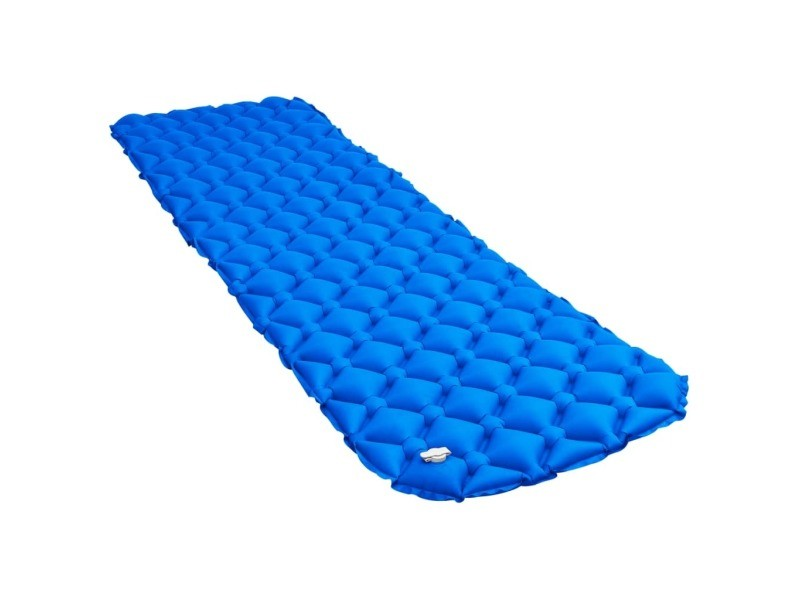 Chic camping et randonnée selection bridgetown matelas gonflable 58x190 cm bleu