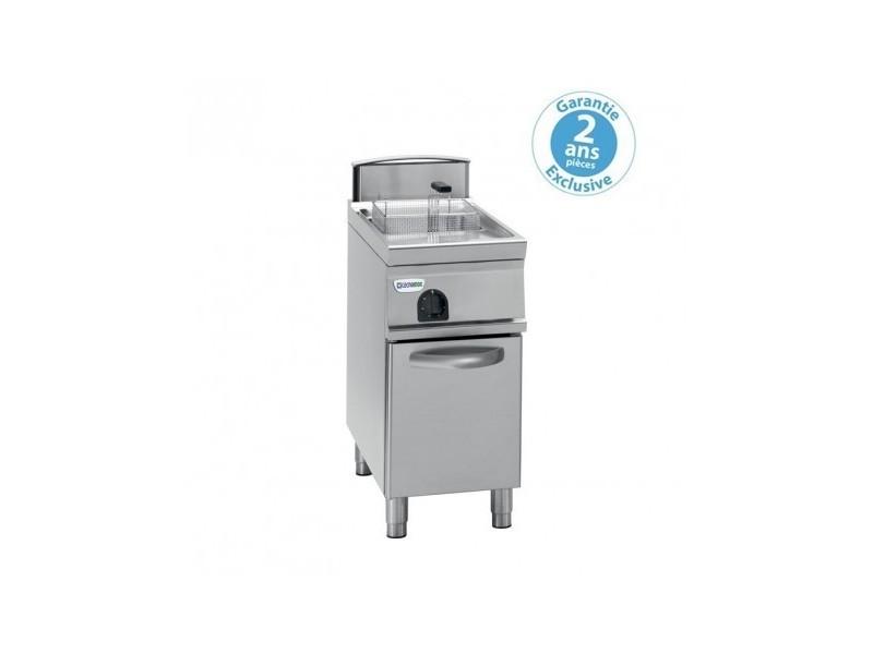 Friteuse sur coffre électrique - 13 litres - commandes mécaniques - tecnoinox -