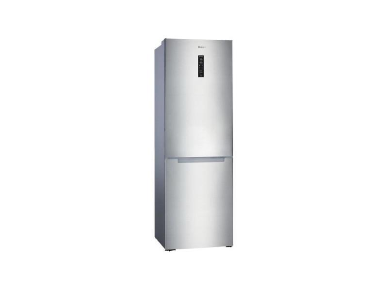 Hbm-686xnfn - réfrigérateur congélateur bas - 315l (218+ 97) - froid no frost - a+ - l60 x h185 cm - simili inox HAI8059019027876