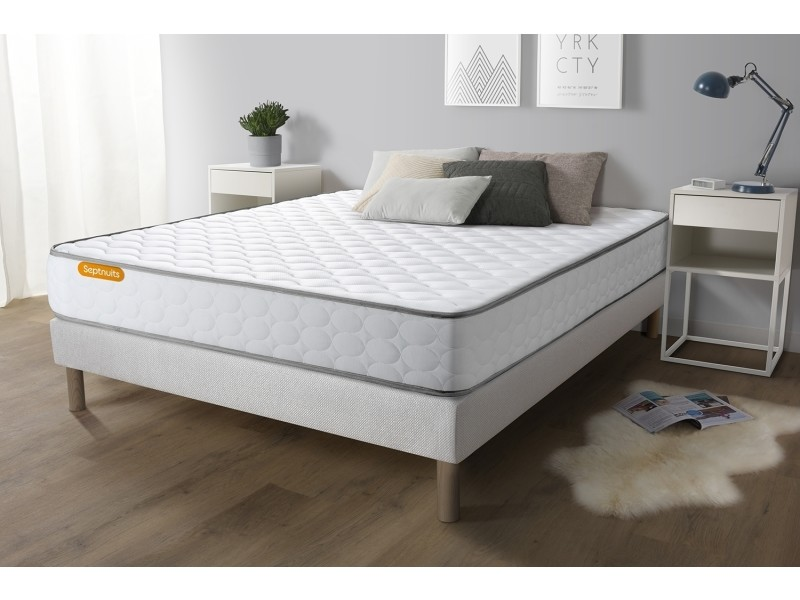 matelas m moire de forme 160x200 memo vente de sept nuit conforama. Black Bedroom Furniture Sets. Home Design Ideas