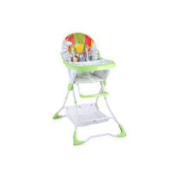 Chaise haute pour bébé bravo vert