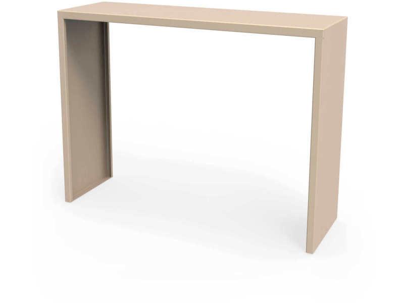 Console spirix beige sable hauteur 90 cm Csl_SPX_h90_Sab