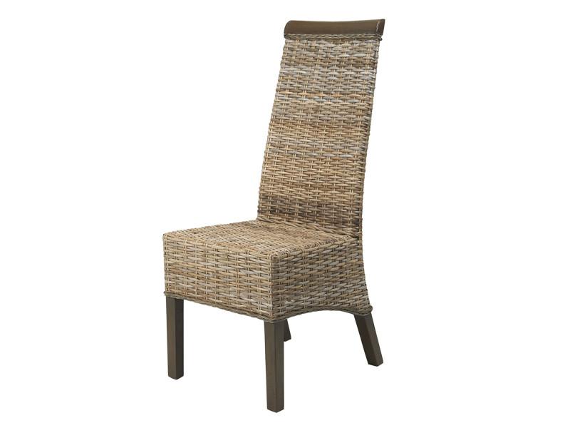 Destockage chaise berlin en rotin kubu vente de chaise