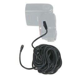 Kaiser cable synchro flash 5 m - mâle / mâle