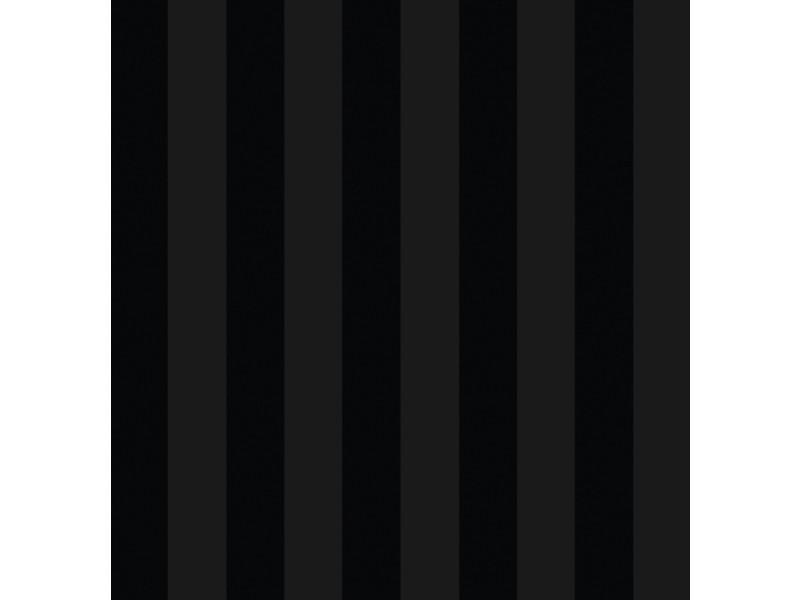 Papier peint intissé luxe rayures 1005 x 52cm noir 2257-94