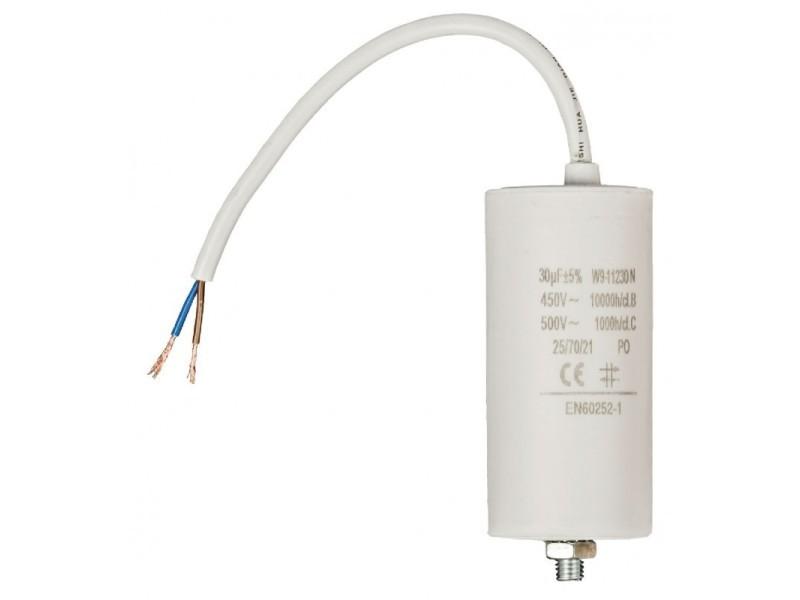 Capacité 30.0uf / 450 v + cable