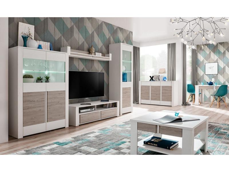 bahut dune 147 cm style scandinave couleur bois vente de buffet bahut vaisselier conforama. Black Bedroom Furniture Sets. Home Design Ideas